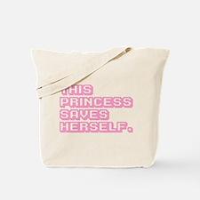 Feminist Princess Tote Bag