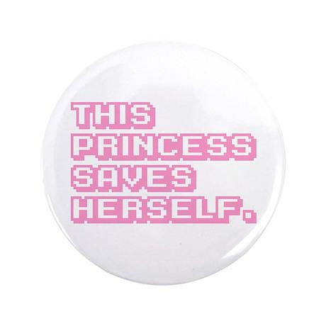 "Feminist Princess 3.5"" Button"