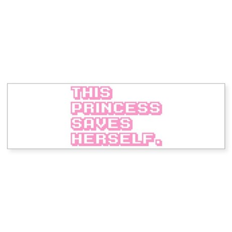 Feminist Princess Sticker (Bumper)