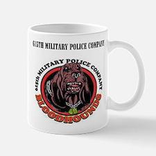615th Military Police Company with Text Mug