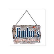 """Unique Jimbo Square Sticker 3"""" x 3"""""""