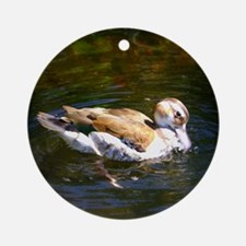 Lonesome Duck Ornament (Round)