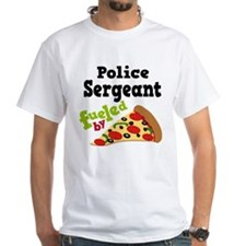 Police Sergeant Pizza Shirt