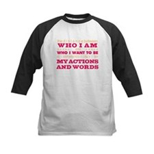 My Actions and Words Pink/Orange Tee