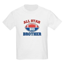 All Star Football Big Brother Kids T-Shirt