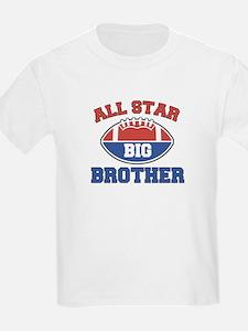 All Star Football Big Brother Kids T-Shirt