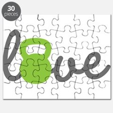 Love Kettlebell Green Puzzle