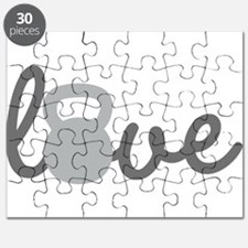 Love Kettlebell Grey Puzzle