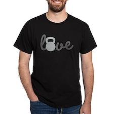 Love Kettlebell Grey T-Shirt