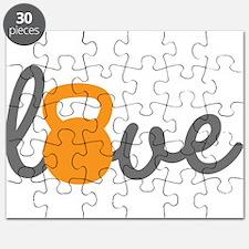 Love Kettlebell in Orange Puzzle