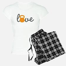 Love Kettlebell in Orange Pajamas