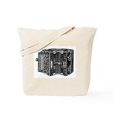 Vintage Accordion Tote Bag