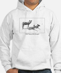 Wild Dogs of the Serengeti Hoodie