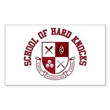 School of Hard Knocks Decal