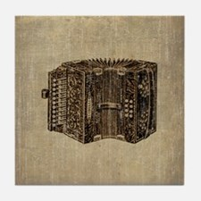 Vintage Accordion Tile Coaster