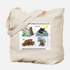 Scientist Kittens as The Four Seasons Tote Bag