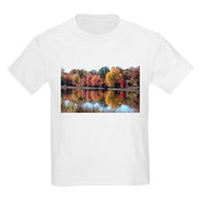 Autumn by the pond T-Shirt