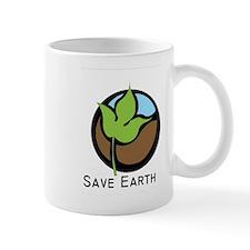 Save The Earth Logo Mug