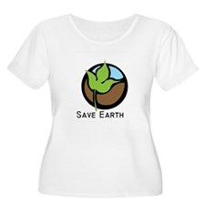 Save The Earth Logo T-Shirt