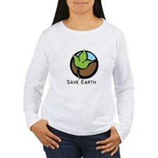 Save The Earth Logo T-Shirt