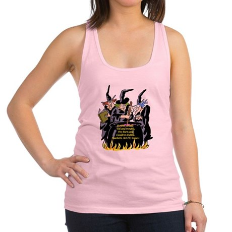 3Witches.png Racerback Tank Top
