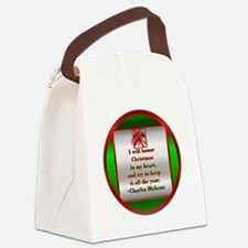 DickensOrn.png Canvas Lunch Bag