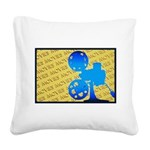 MoviesOrn.png Square Canvas Pillow