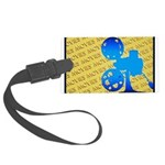 MoviesOrn.png Large Luggage Tag