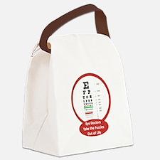 eyeChart.png Canvas Lunch Bag