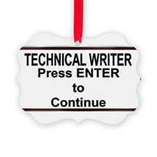 TechWriterPlate.png Ornament