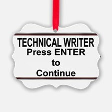 TechWriterPlate.png Ornament