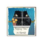 PeepingTom.png Square Sticker 3