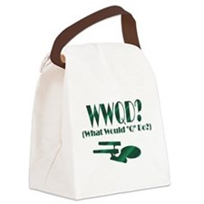 WWQDTile.png Canvas Lunch Bag