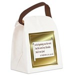 Chocolate3Orn.png Canvas Lunch Bag