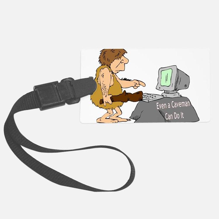 cavemancomputer.jpg Luggage Tag