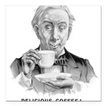delicious_coffeeFramed.jpg Square Car Magnet 3