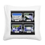 HurricaneTile.png Square Canvas Pillow