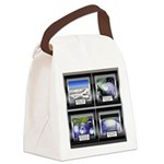 HurricaneTile.png Canvas Lunch Bag