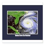 hurricane.png Square Car Magnet 3