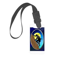 RockClimber2Orn.png Luggage Tag