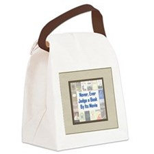 bookvsmovie.jpg Canvas Lunch Bag