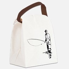 flyfishing1.png Canvas Lunch Bag