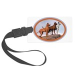 great_danes.png Large Luggage Tag