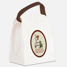 LittleBoPeep.png Canvas Lunch Bag