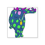 funnydinosaur.png Square Sticker 3