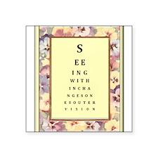 "SeeingWithin.jpg Square Sticker 3"" x 3"""