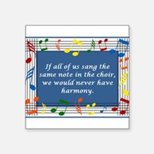"2-harmony.jpg Square Sticker 3"" x 3"""