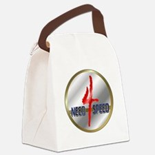 Ornneed4speed.png Canvas Lunch Bag