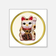 "ThaiCat.png Square Sticker 3"" x 3"""