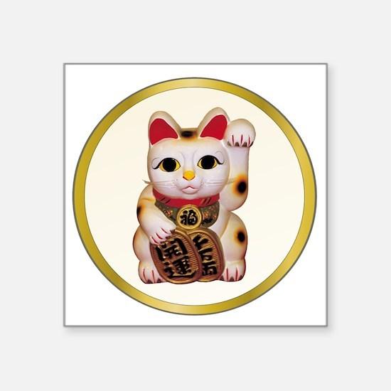"ThaiCat.png Square Sticker 3"" x 3"""